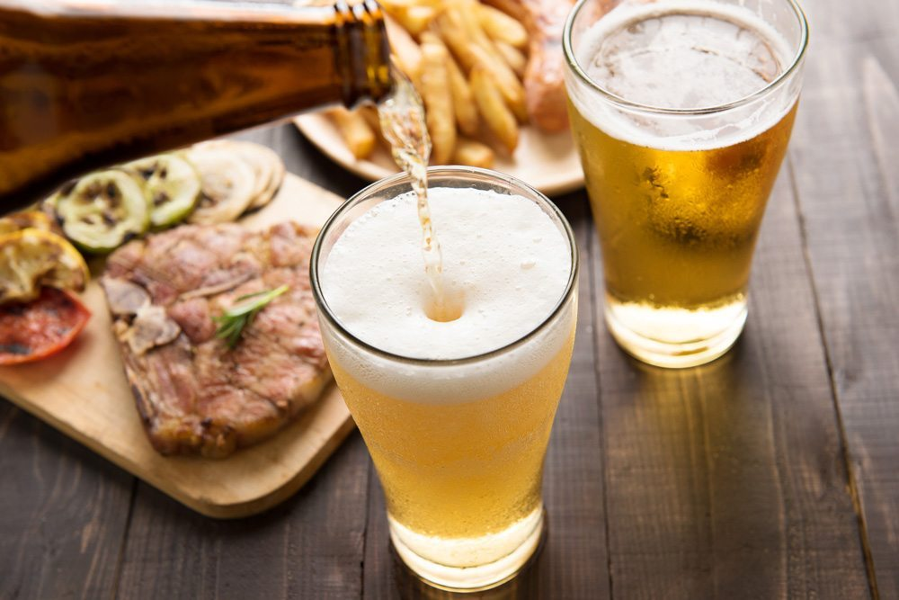 Beer and food example for taste and flavor, Generalbev.eu